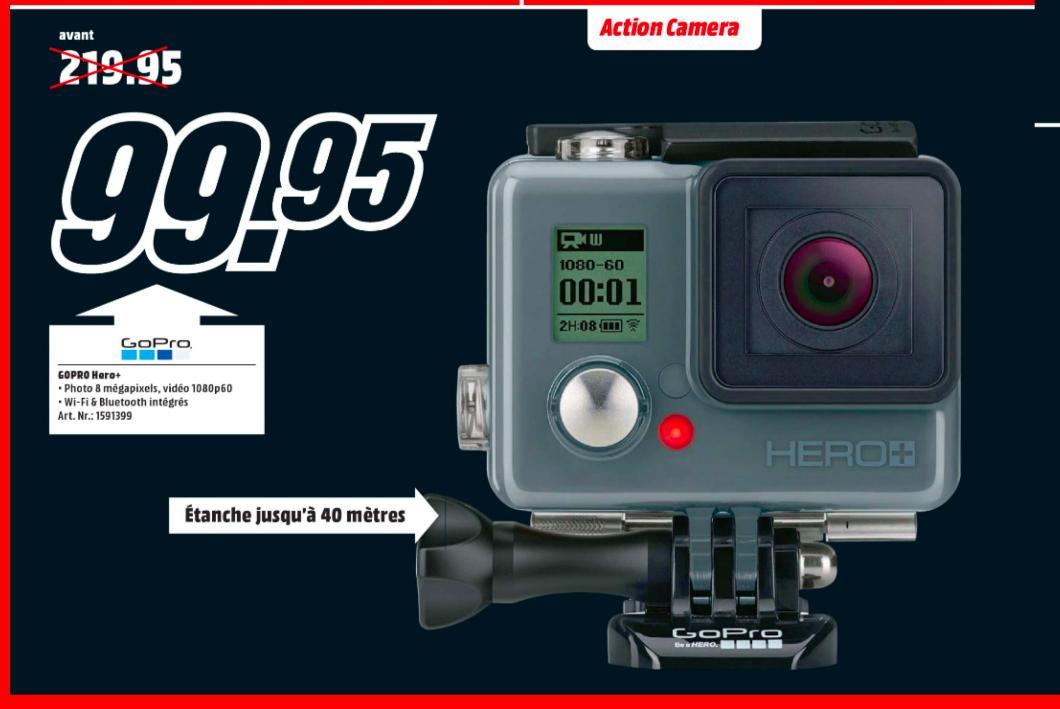 Caméra Sportive GoPro Hero+