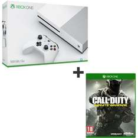 Console Microsoft Xbox One S 500 Go  + Call Of Duty : Infinite Warfare