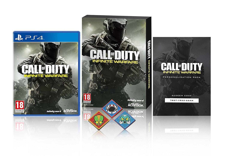 Call of Duty: Infinite Warfare sur PS4 et Xbox one (incluant les badges zombi et le DLC Hellstorm)