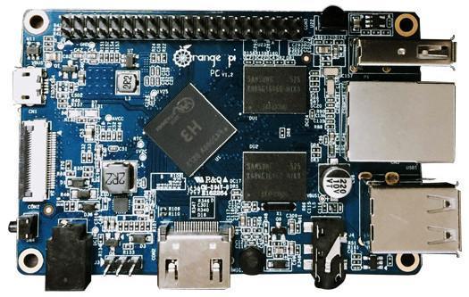 Orange Pi PC (Quad Core, RAM 1 Go)