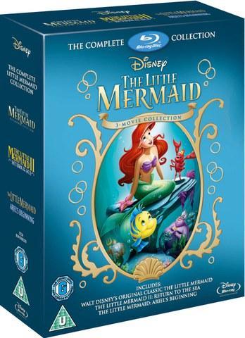 Coffret Blu-Ray La Petite Sirène - Collection 1 à 3