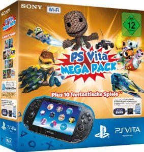 Pack PS Vita Wi-Fi Megapack (10 jeux en DL) + CM 8 Go