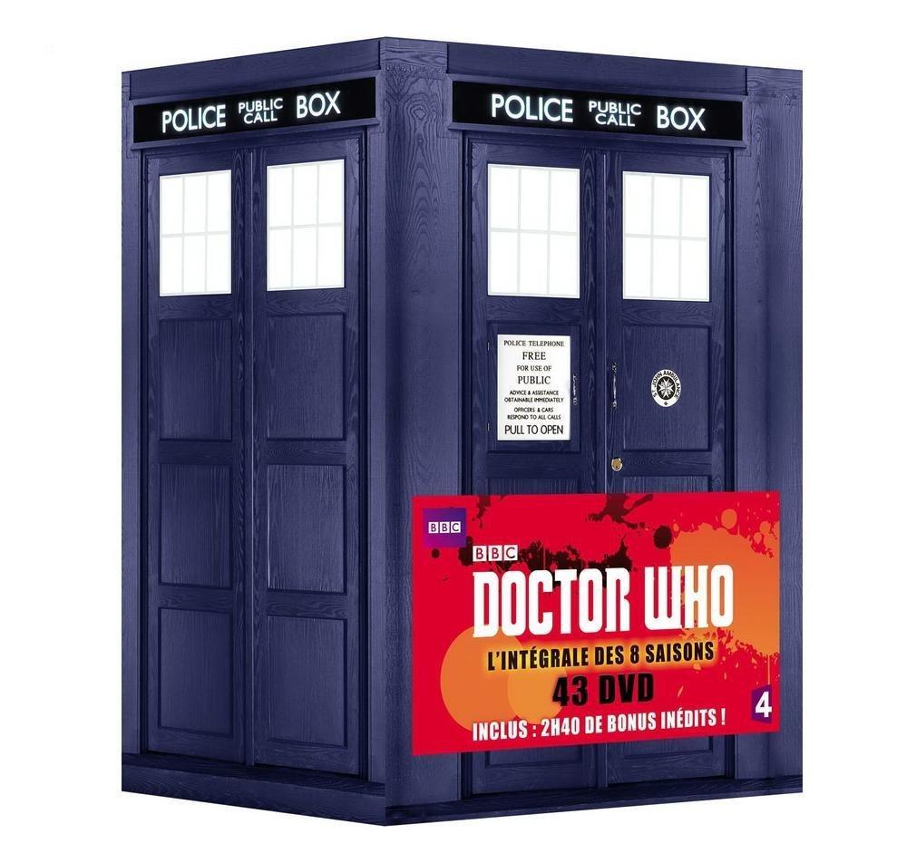 Coffret DVD - Doctor Who - L'intégrale des 8 Saisons (43 Disques)