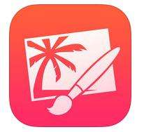 Application Pixelmator sur iOS