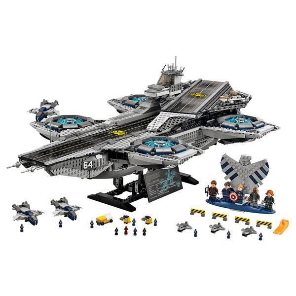 Lego 76042 - L'hélitransport du Shield