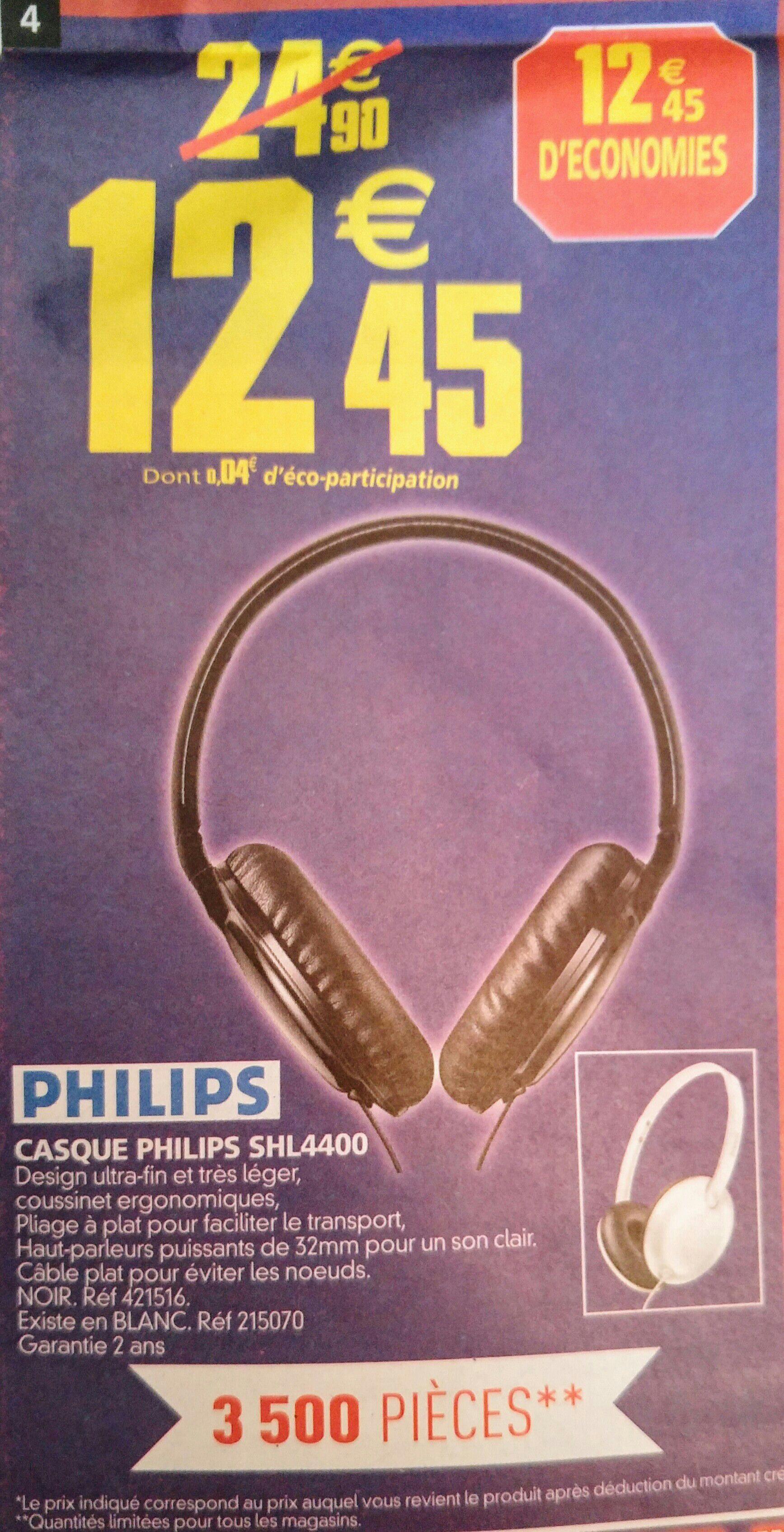 Casque Audio Philips SHL4400