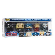 Pack de 5 Funko POP Edition Limitée Captain America : Civil War