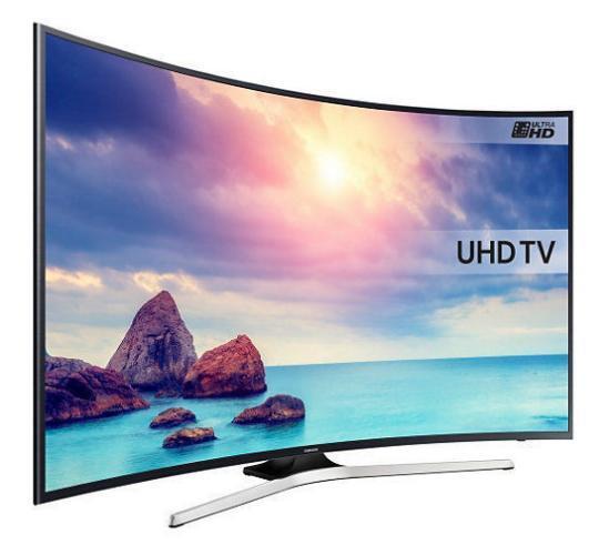 "TV 40"" Samsung UE40KU6100 - 4K UHD, Smart TV, HDR, Incurvée"