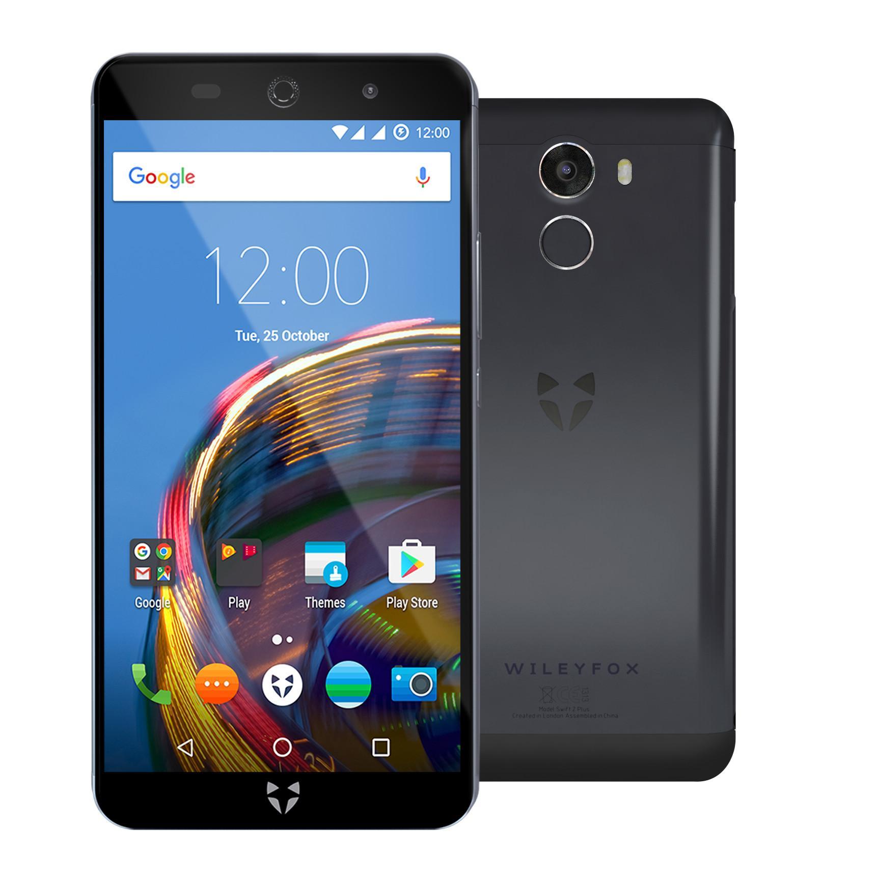"""Smartphone 5"""" Wileyfox Swift 2 Plus 32Go + Coque de protection + Garantie casse écran"""