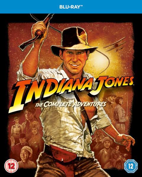 Coffret Blu-ray Indiana Jones l'intégrale