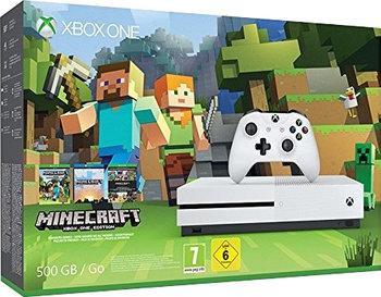 Pack console Microsoft Xbox One S (500 Go) + Minecraft + Forza Horizon 3