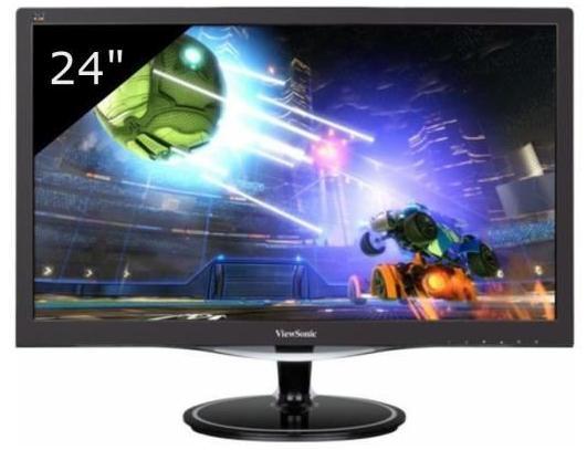 """Ecran 24"""" ViewSonic VX2457-MHD - FULL HD - Dalle TN"""