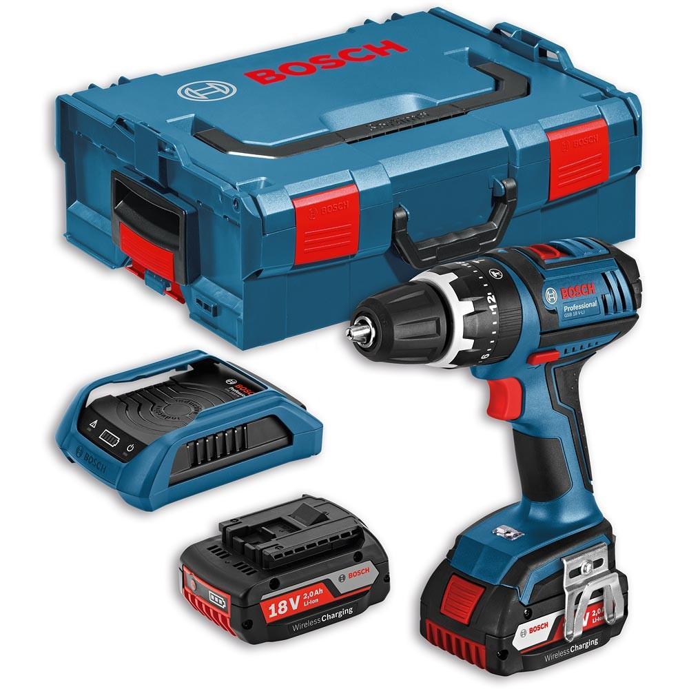 Perceuse visseuse sans fil Bosch GSB 18 V-LI Combi Drill 18V (2.0Ah)