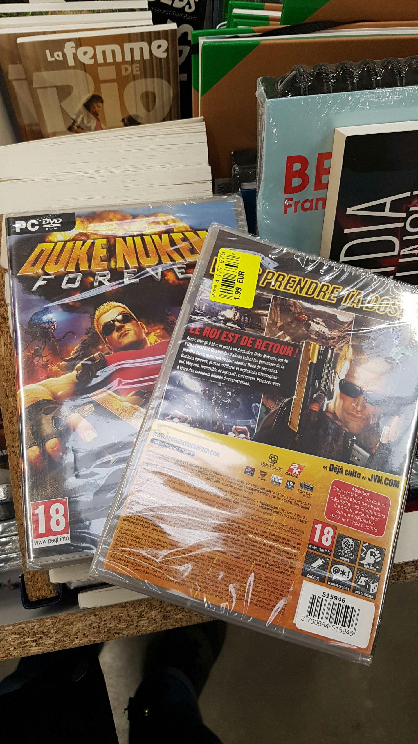 Duke Nukem Forever sur PC