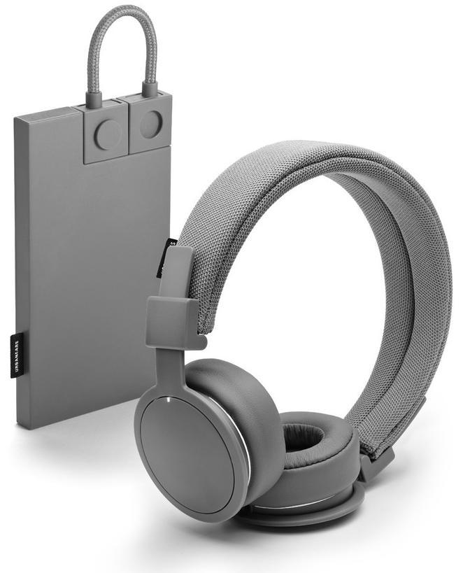 Casque Audio Sans-fil Urban Ears Plattan ADV Dark Grey Bluetooth + Batterie externe Powerbank 2000mAh