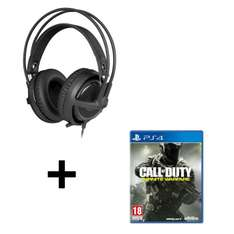 Casque micro SteelSeries Siberia P300 Gaming + Call of Duty: Infinite Warfare sur PS4
