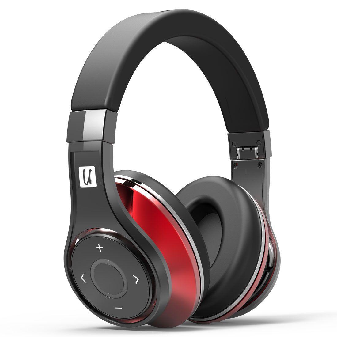 Casque Audio Sans-fil Bluedio U UFO Noir / Rouge - Bluetooth