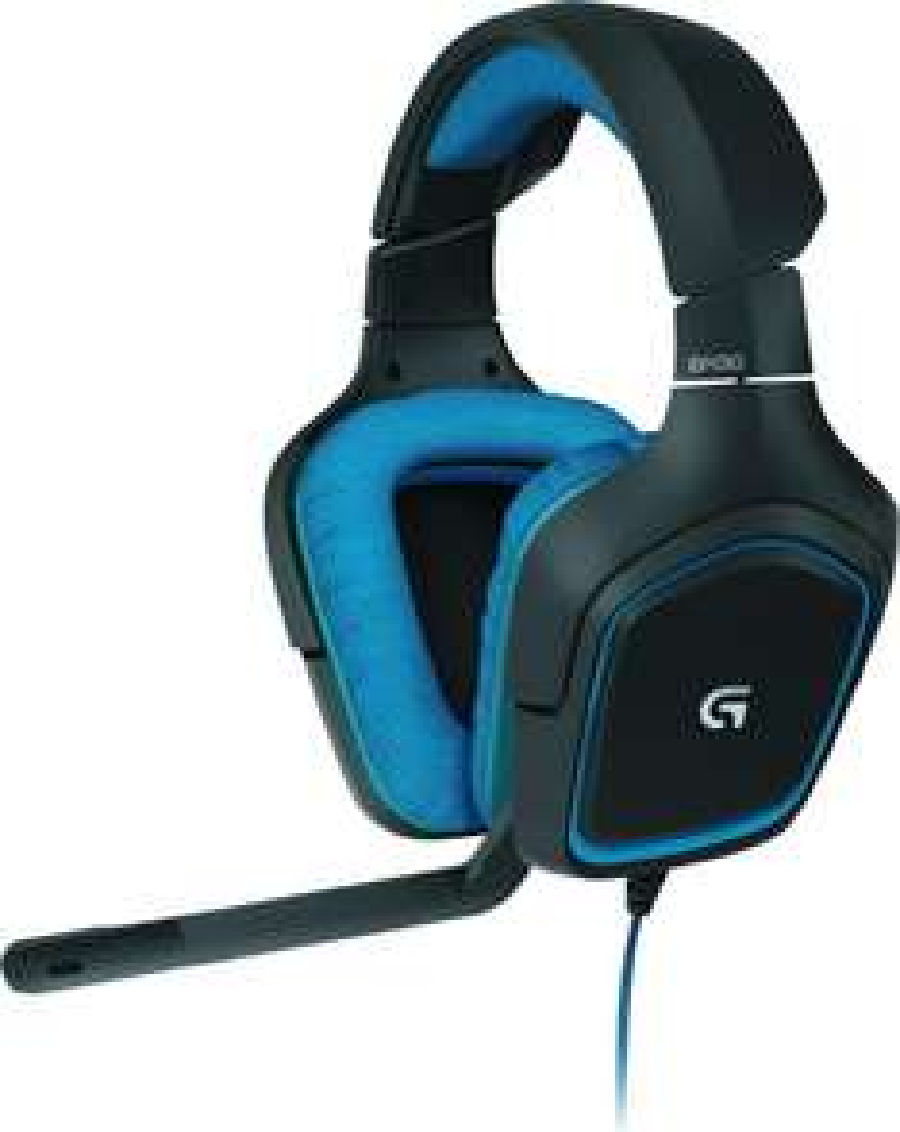Casque Audio Gaming Logitech G430 pour PC / PS4 - Noir / Bleu