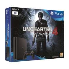 Console PS4 Slim 1 To + Uncharted 4