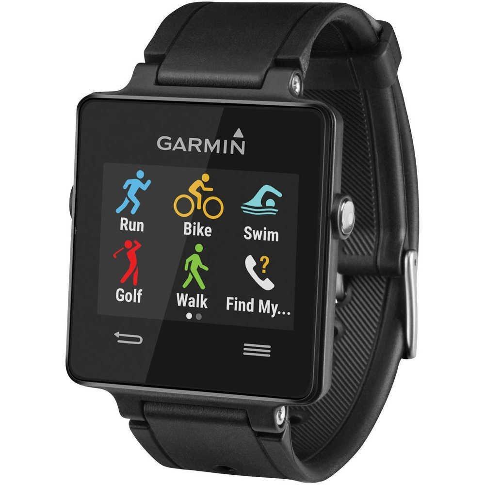 Montre Connectée Multisports Garmin Vivoactive avec GPS Intégré - Noir