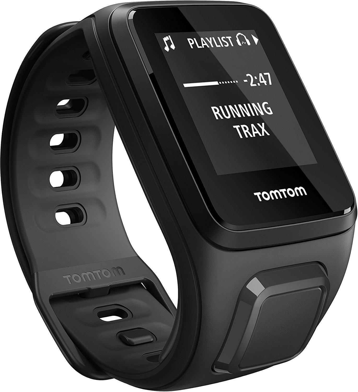 Montre connectée TomTom Spark Cardio + GPS + Music  Fitness Watch