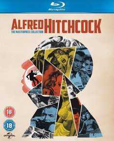 Coffret Import Blu-ray Alfred Hitchcock : The Masterpiece Collection (14 disques)