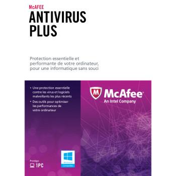 Antivirus Mc Afee Plus 2013 – 1 an / 1 PC