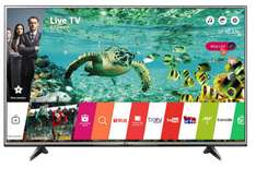 "TV 65"" LG 65UH615V - LED, 4K UHD, Smart TV"