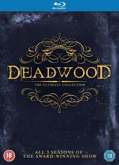 Coffret Blu-ray Deadwood The Complete Collection