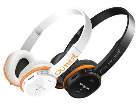 Casque Bluetooth / MP3 / Filaire Creative Outlier