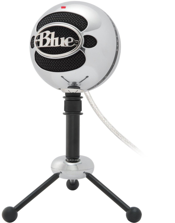 Microphone USB Blue Microphones - Snowball Aluminium brossé