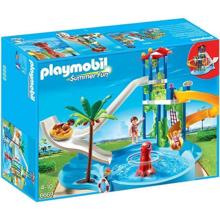 [Cdiscount à Volonté] Jusqu'a 50% de réduction sur une sélection de jouets - Ex : PLAYMOBIL 6669 Parc aquatique avec toboggans géants