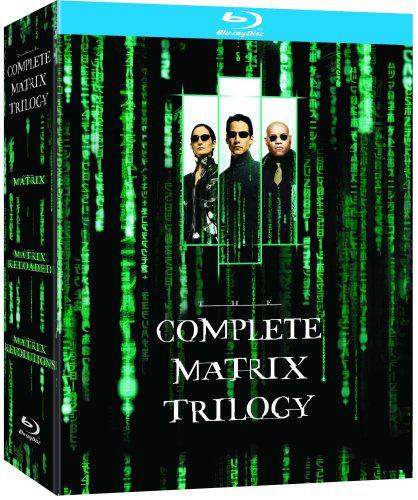 Coffret Blu-ray Trilogie Matrix [Import Anglais]