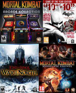 Immortal Action Pack : 4 Jeux PC (Batman Arkham City GOTY, Mortal Kombat Komplete Edition...)