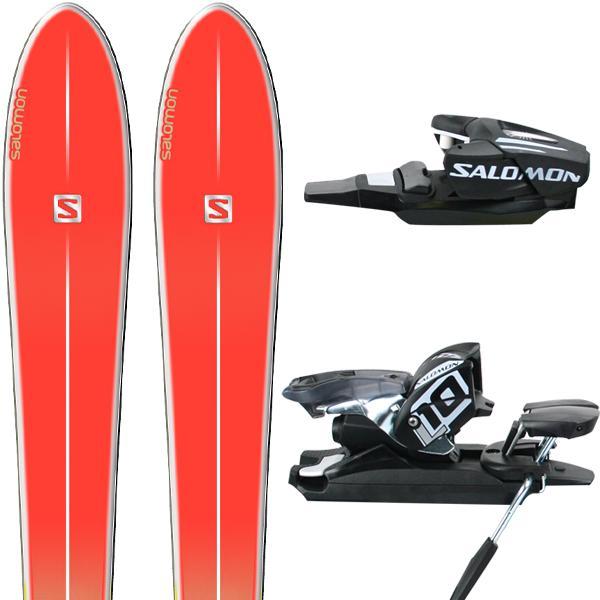 Pack Skis Salomon BBR SunLite W 2014 + Fixations L10 EasyTrak BLK 2013
