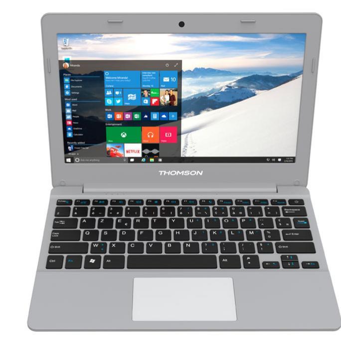 """PC portable 14.1"""" Thomson THN14 - Intel M-5Y10c, 4 Go RAM, 128 Go SSD"""