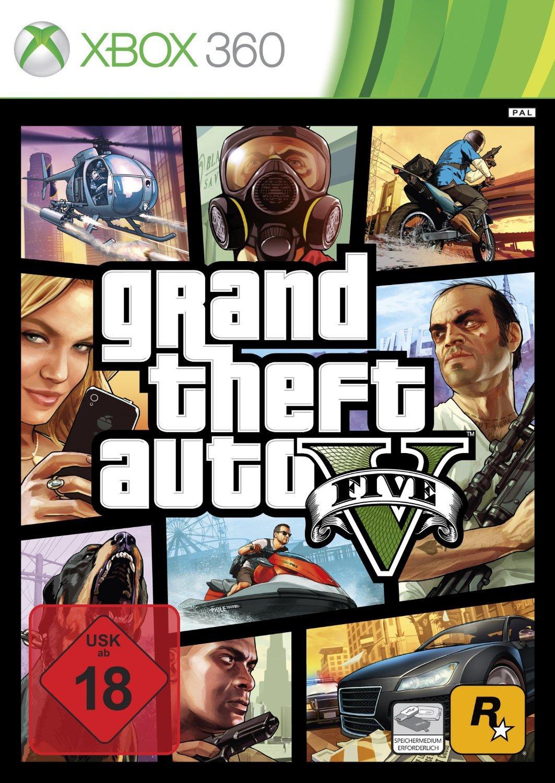 Grand Theft Auto V sur Xbox 360