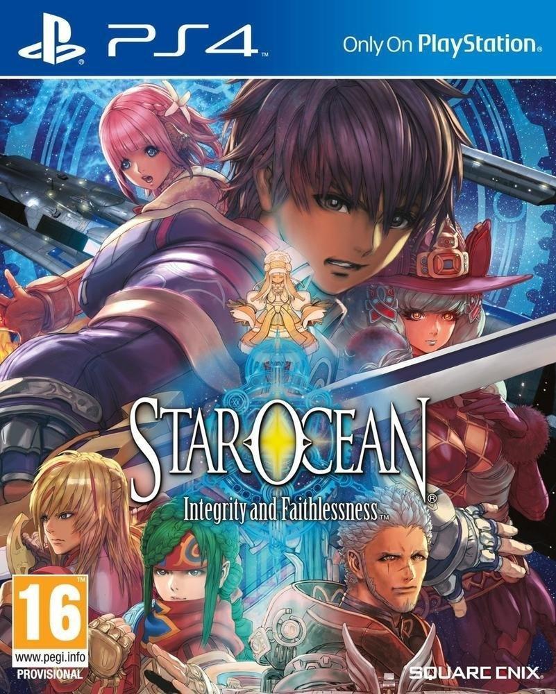 Star Ocean : Integrity and Faithlessness + steelbook sur PS4