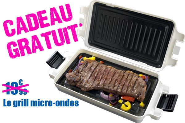 Trousseau de clés décoratif + Un grill micro-onde en cadeau (Valeur 20€)