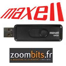 Clé USB 2.0 Maxell Venture 64Go