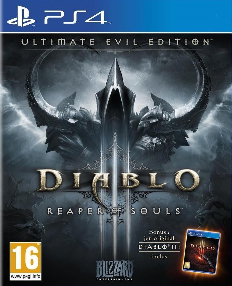Jeu Diablo III : Reaper of souls - ultimate evil édition sur PS4