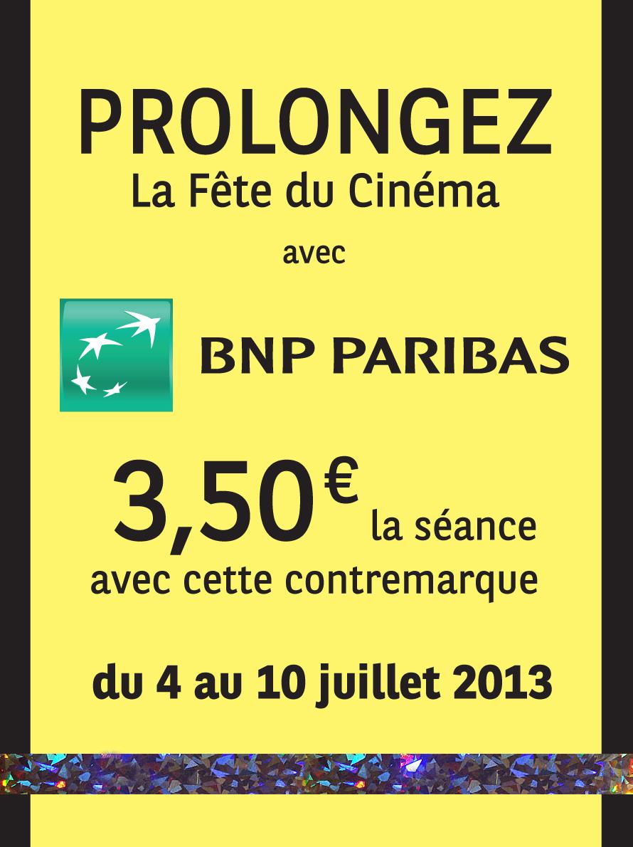Contremarques Rentrée du cinéma pour des billets à 3.5€