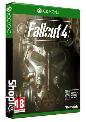 Fallout 4 + Fallout 3 sur Xbox One (en anglais)