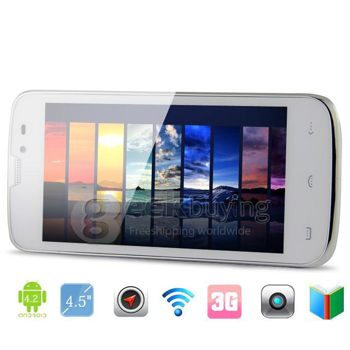 Smartphone Quadcore 1.2GHz MTK6589 IPS QHD - 1GB/4GB 8.0MP Camera Android 4.2