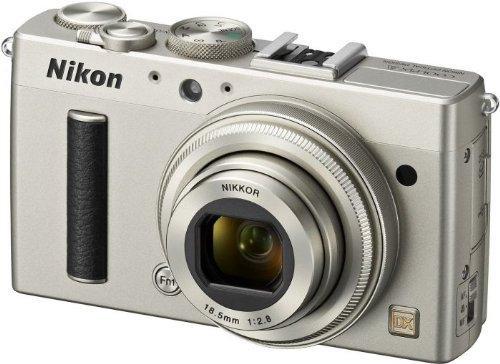 Appareil photo Nikon CoolPix A - Argent, 16 MP (Reconditionné - Très bon)