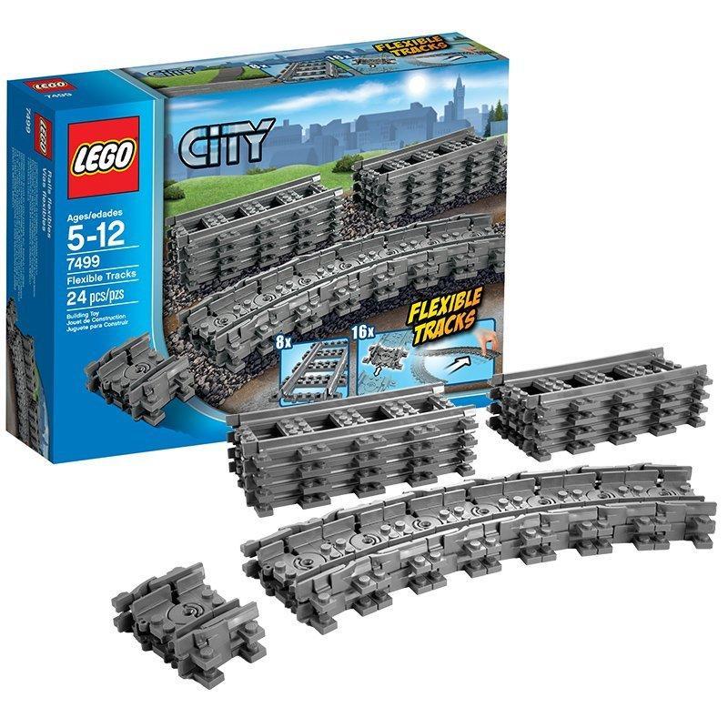 [Premium] Jouet Lego City Rails Flexibles et aiguillages A1104392