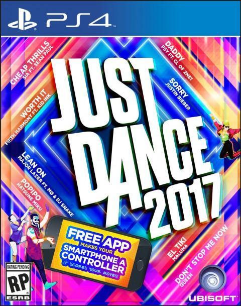 Just Dance 2017 sur PS3, Xbox 360 et Wii à 21.76€ ou sur PS4 et Xbox One