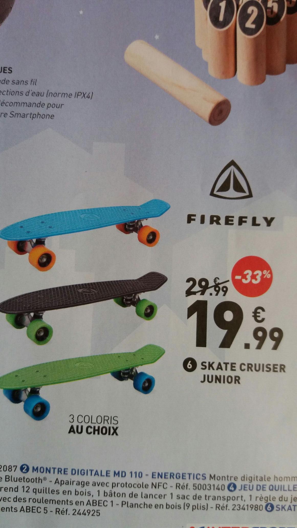 Skateboard Cruser Firefly Junior