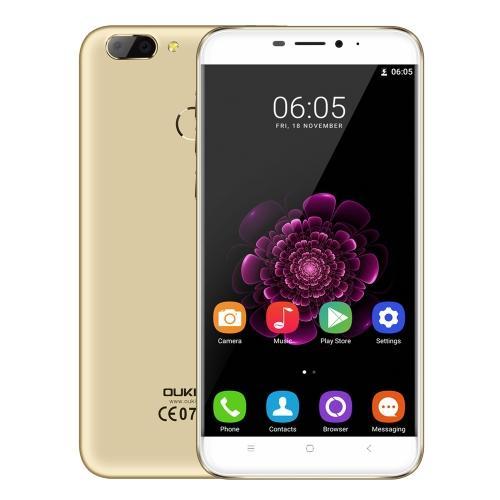 "Smartphone 5.5"" Oukitel U20 Plus - full HD, 2 Go de RAM, 16 Go, noir ou or"