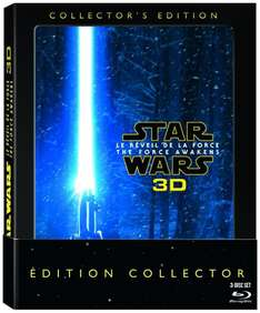 Coffret Blu-ray 3D Star Wars : Le Réveil de la Force - Édition Collector (+ Blu-ray)